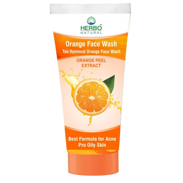 Orange Face Wash - 100 ml